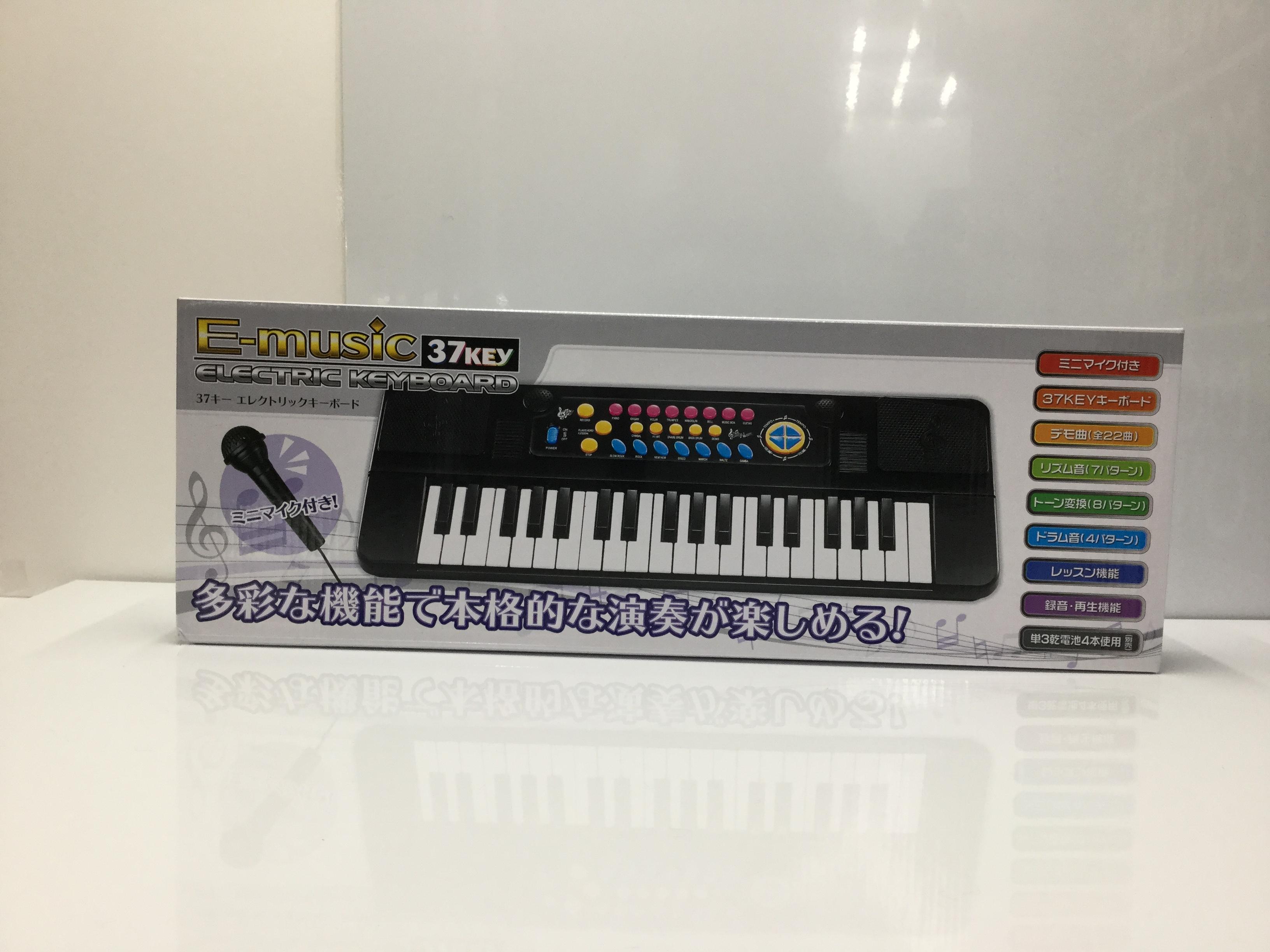 E-music 37キー エレクトリックキーボード
